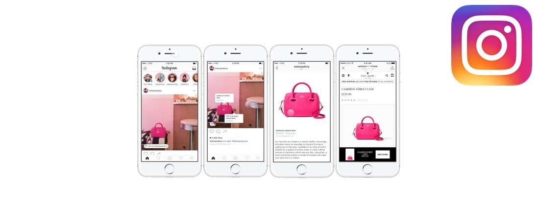 Compras vão chegar ao Instagram