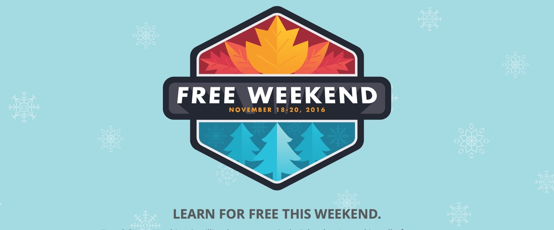 Free Weekend na CodeSchool