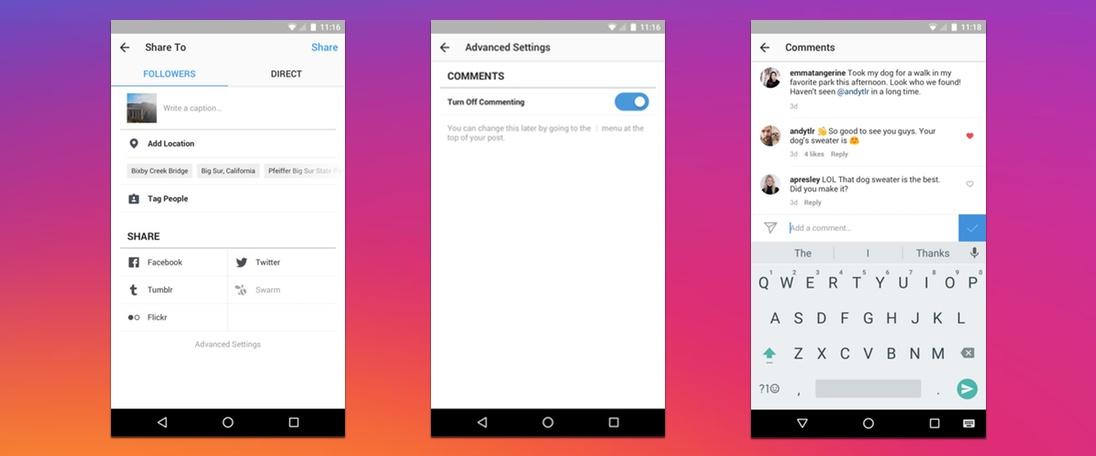 Instagram acrescenta formas de moderação