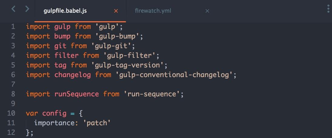 Firewatch Color Scheme