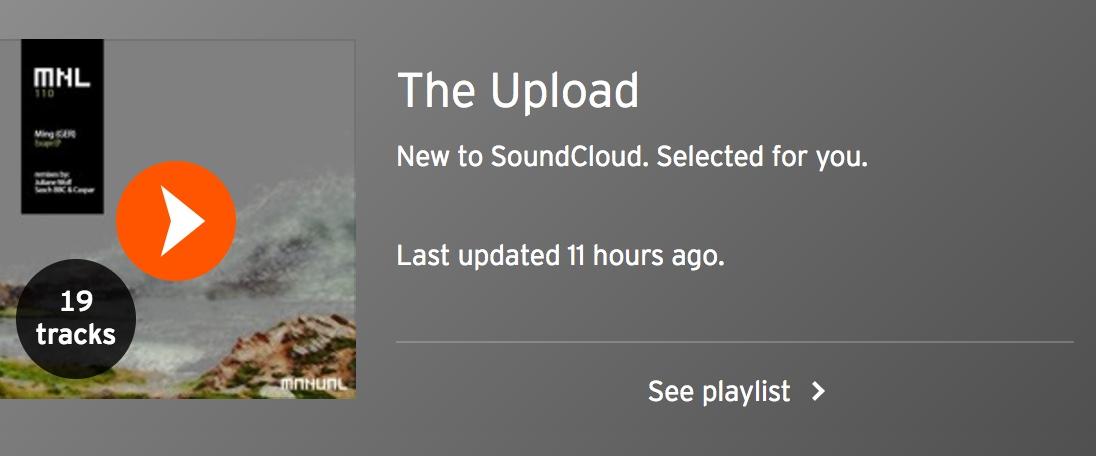 SoundCloud apresenta The Upload