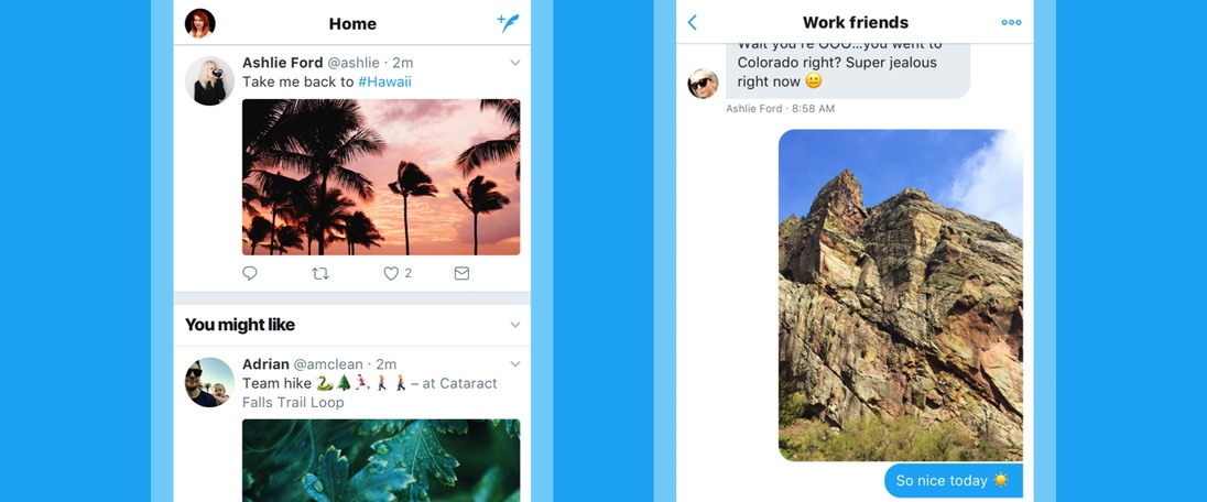 Twitter com nova imagem