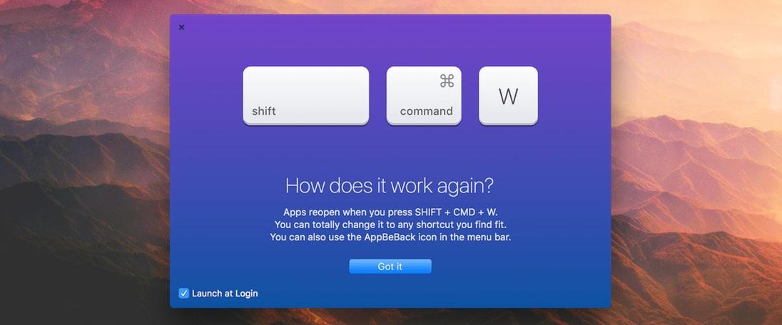 AppBeBack (macOS)