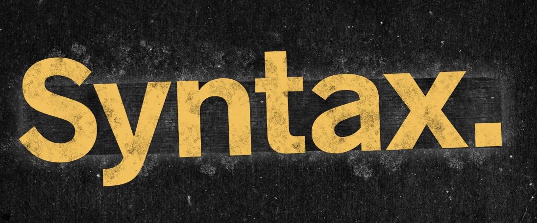 Syntax - podcast de Wes Bos e Scott Tolinski