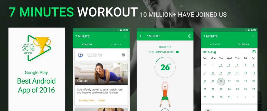 7 Minutes Workout (Android)