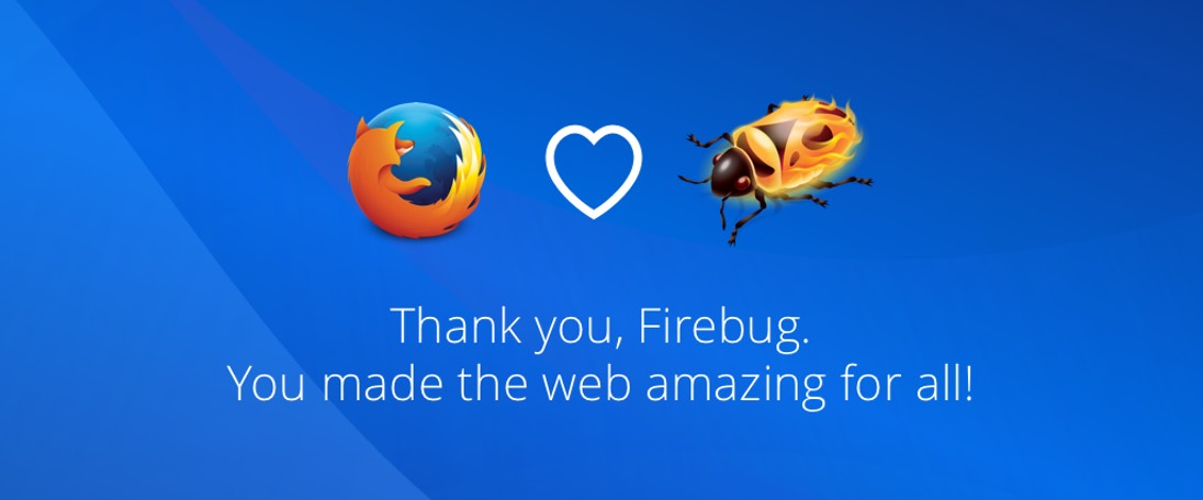 Adeus, Firebug