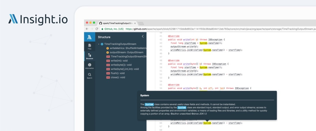 Insight.io (Chrome, Firefox)