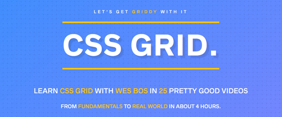 Learn CSS Grid with Wes Bos