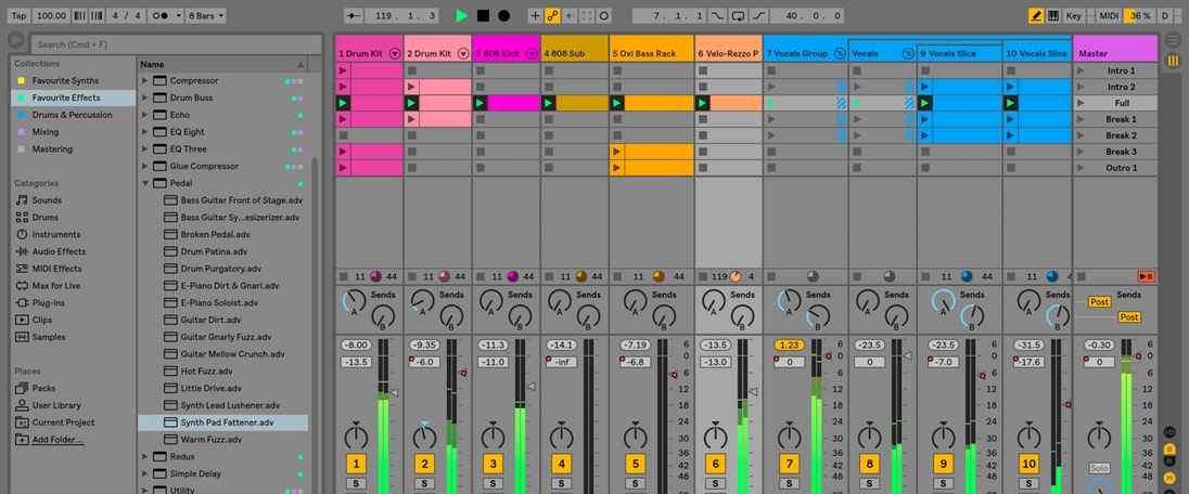 Ableton Live 10 (Windows, macOS)