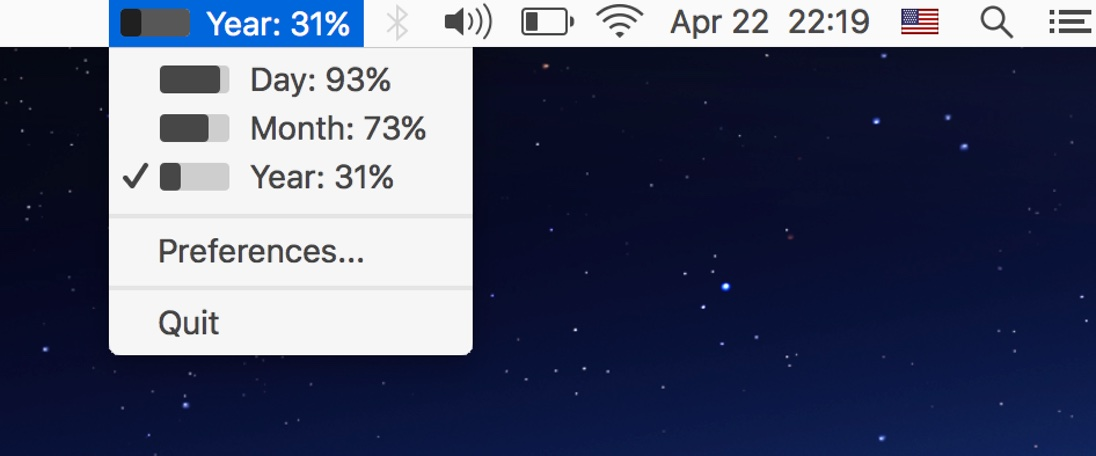 Progress Bar OSX (macOS)