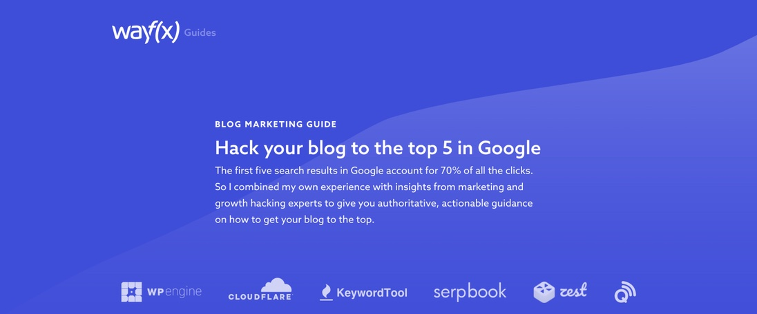 Hack your blog to the top 5 in Google