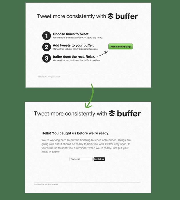 Buffer - Como tudo começou