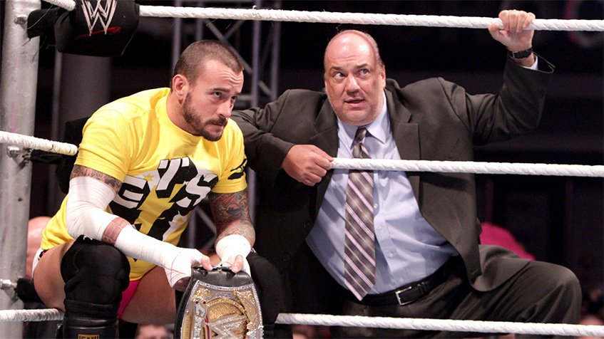 Heyman com CM Punk