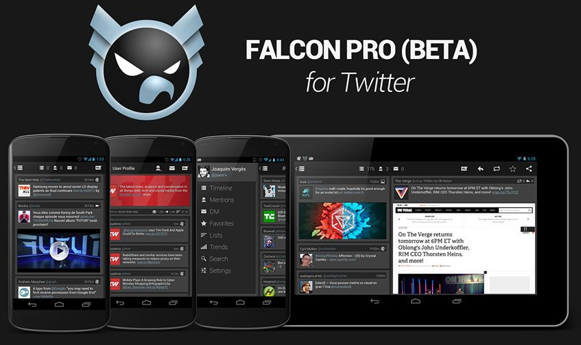 Falcon Pro para Android