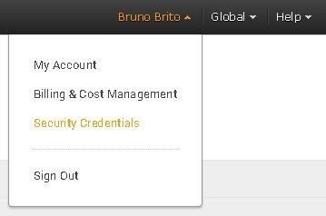 Amazon Security Credentials