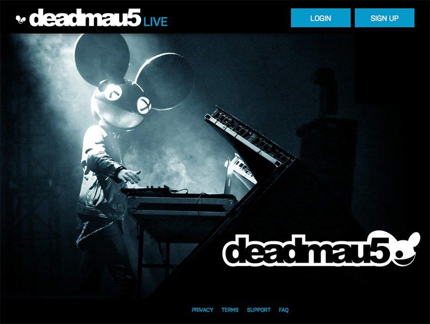 A nova plataforma para o fã de deadmau5