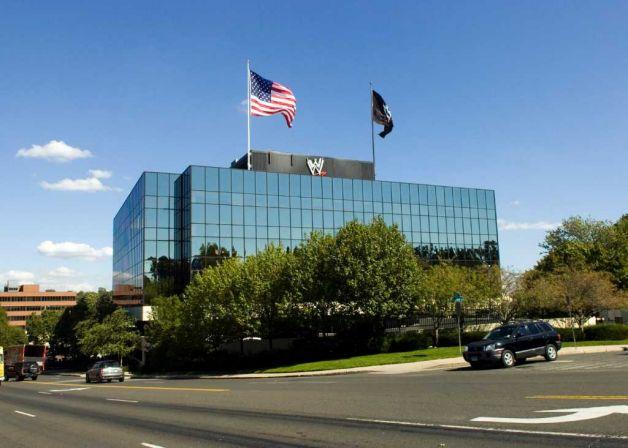 A sede da WWE, em Stamford