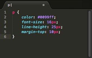 CSS no SublimeText
