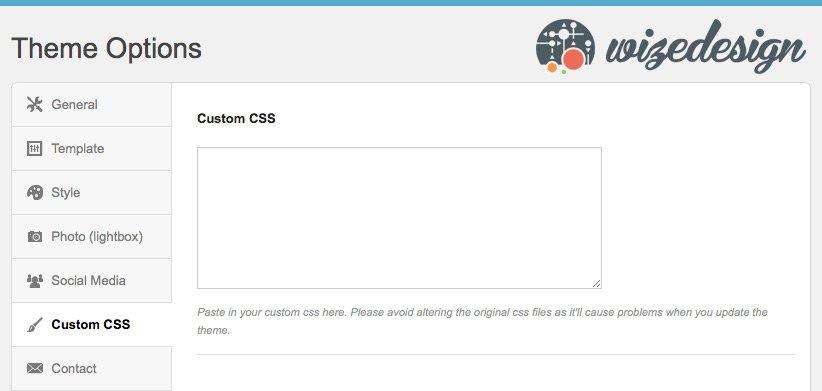 Custom CSS no Clubber