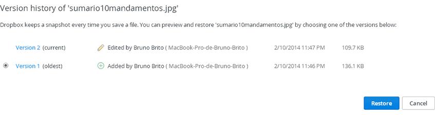 "Dropbox ""Older Versions"