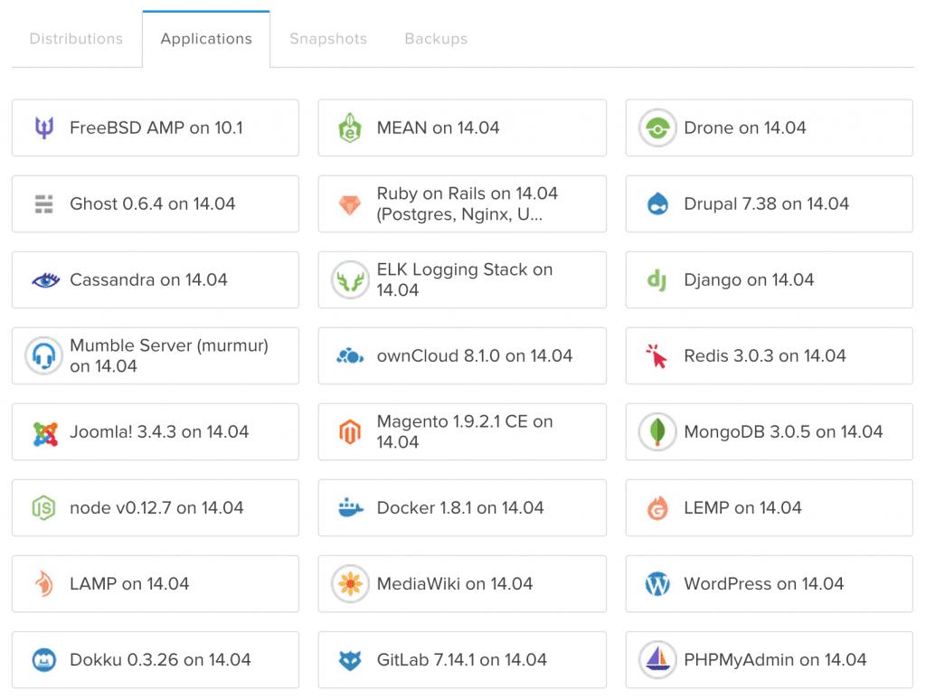 As apps do DigitalOcean