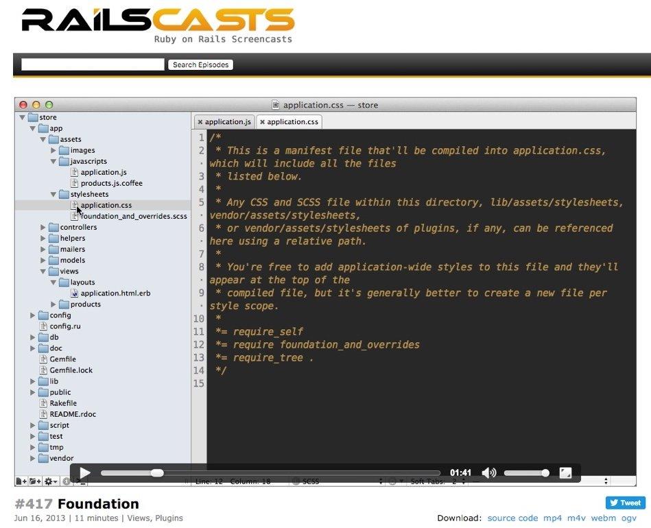 RailsCasts - site