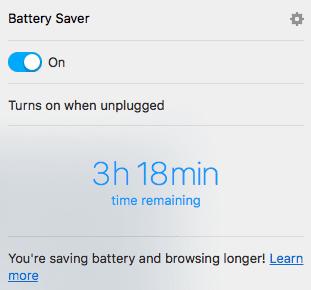 Opera Battery Saver