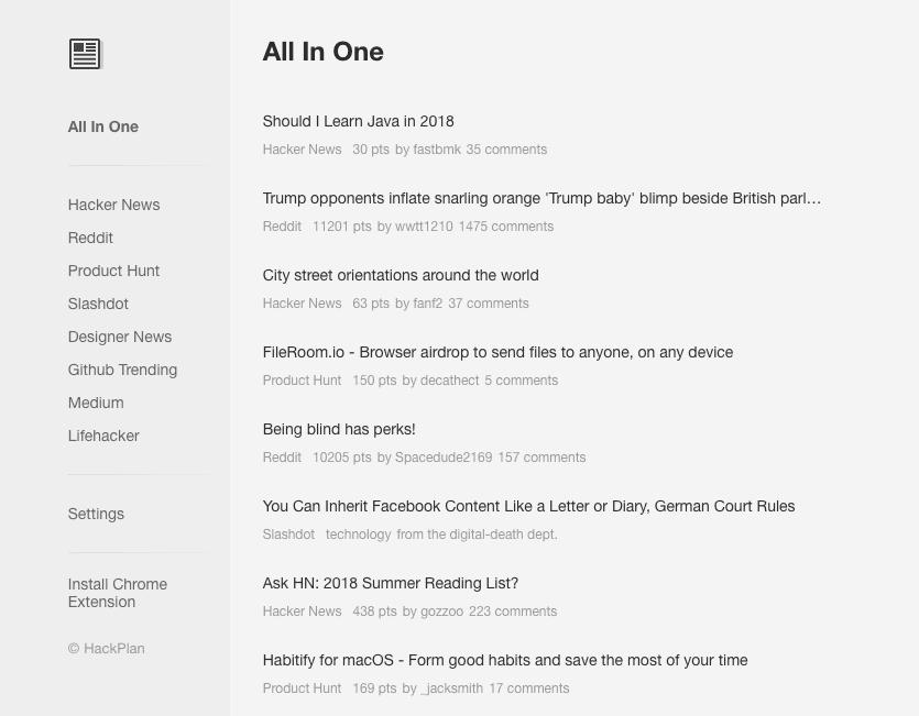 One App Webpage