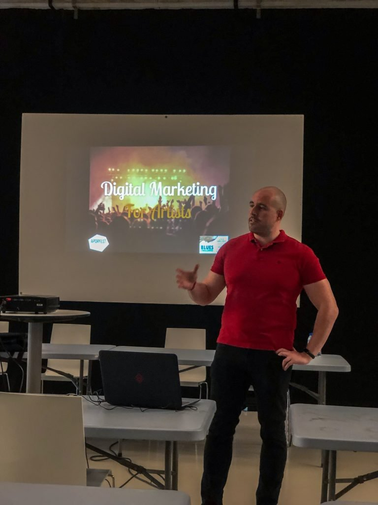 Bruno Brito - Digital Marketing for Artists