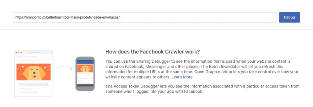 Facebook Sharing Debugger