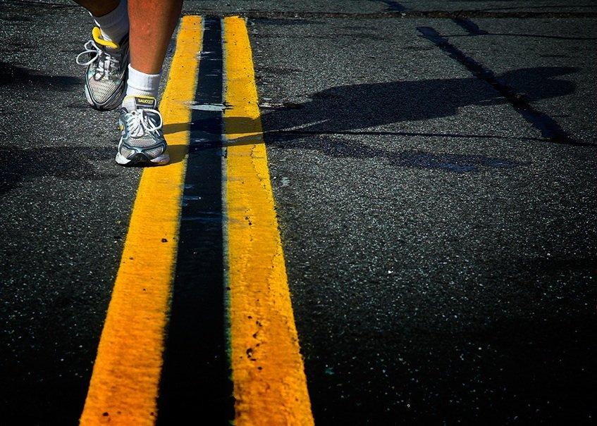 A vida é uma maratona, não um *sprint*