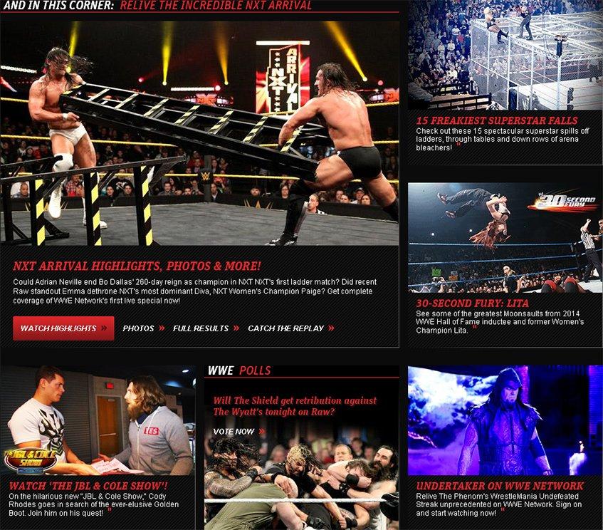 O WWE.COM