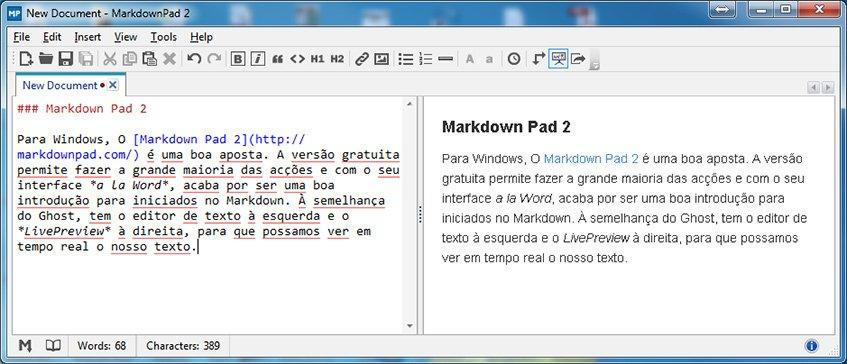Markdown Pad 2
