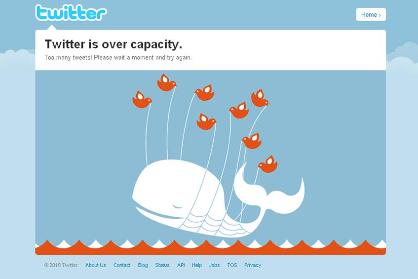 A famosa Twitter whale