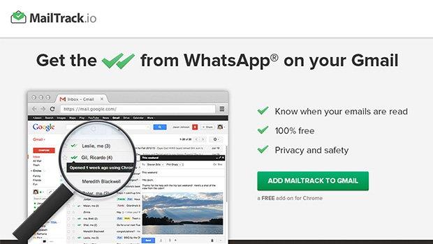 Mailtrack para Google Chrome