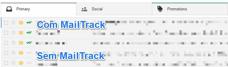 Antes e depois do MailTrack