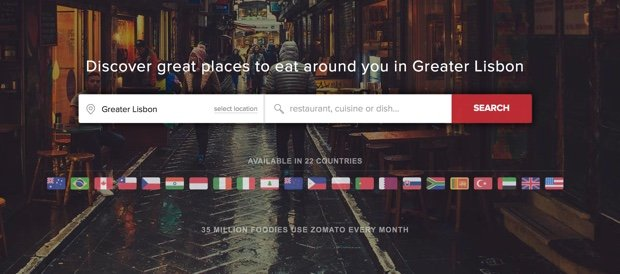 Zomato Greater Lisbon