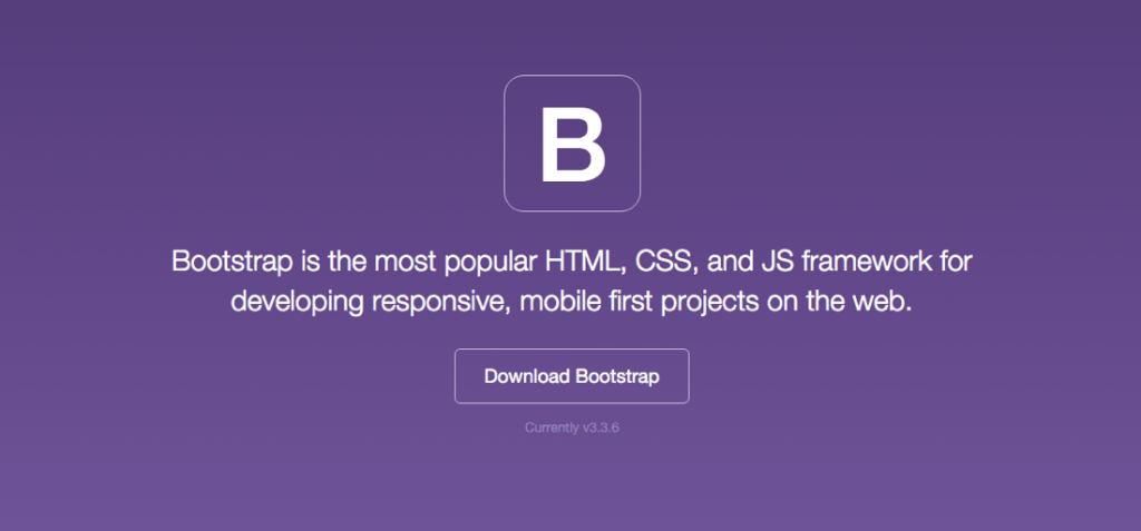 Bootstrap - site