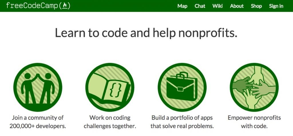 FreeCodeCamp - site