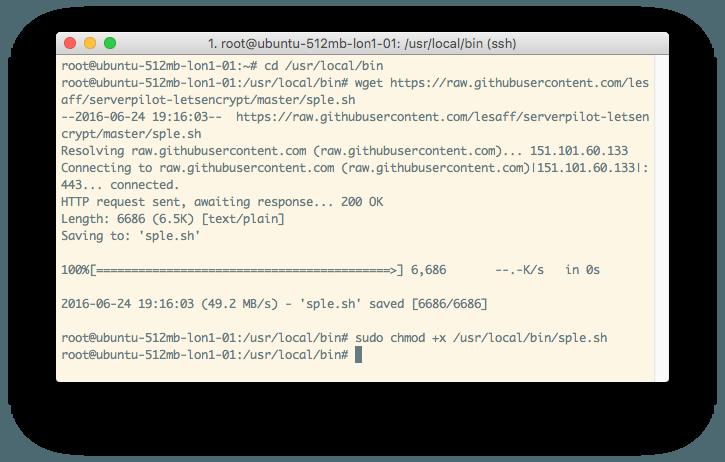 Comandos para descarregar script do Github