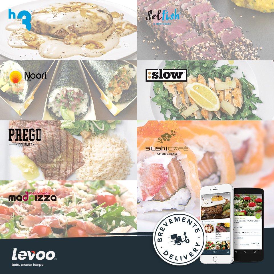 Restaurantes aderentes Levoo