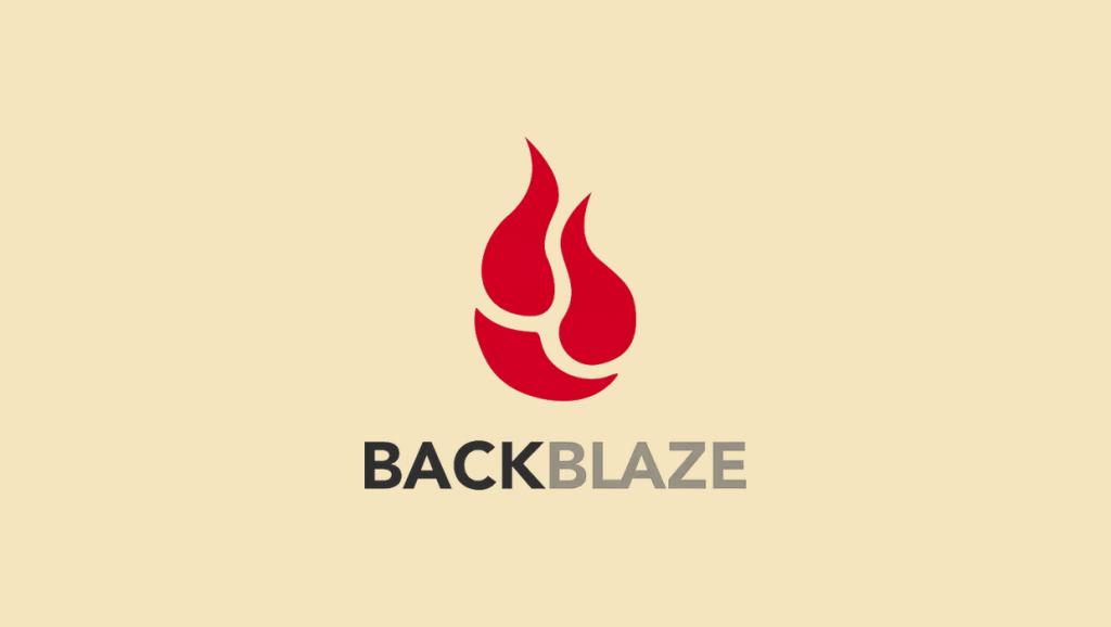 Backblaze logo featured