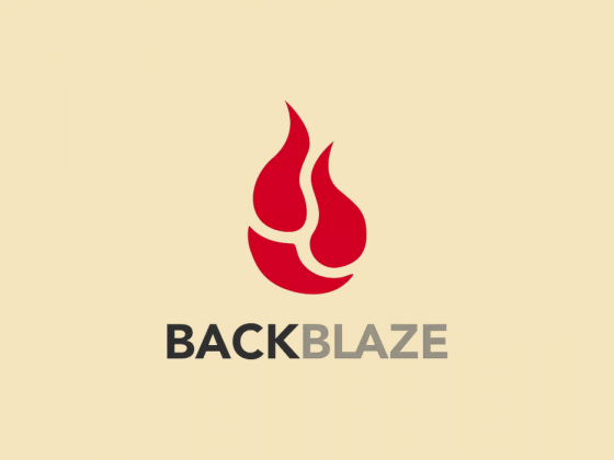 Backblaze logo featured