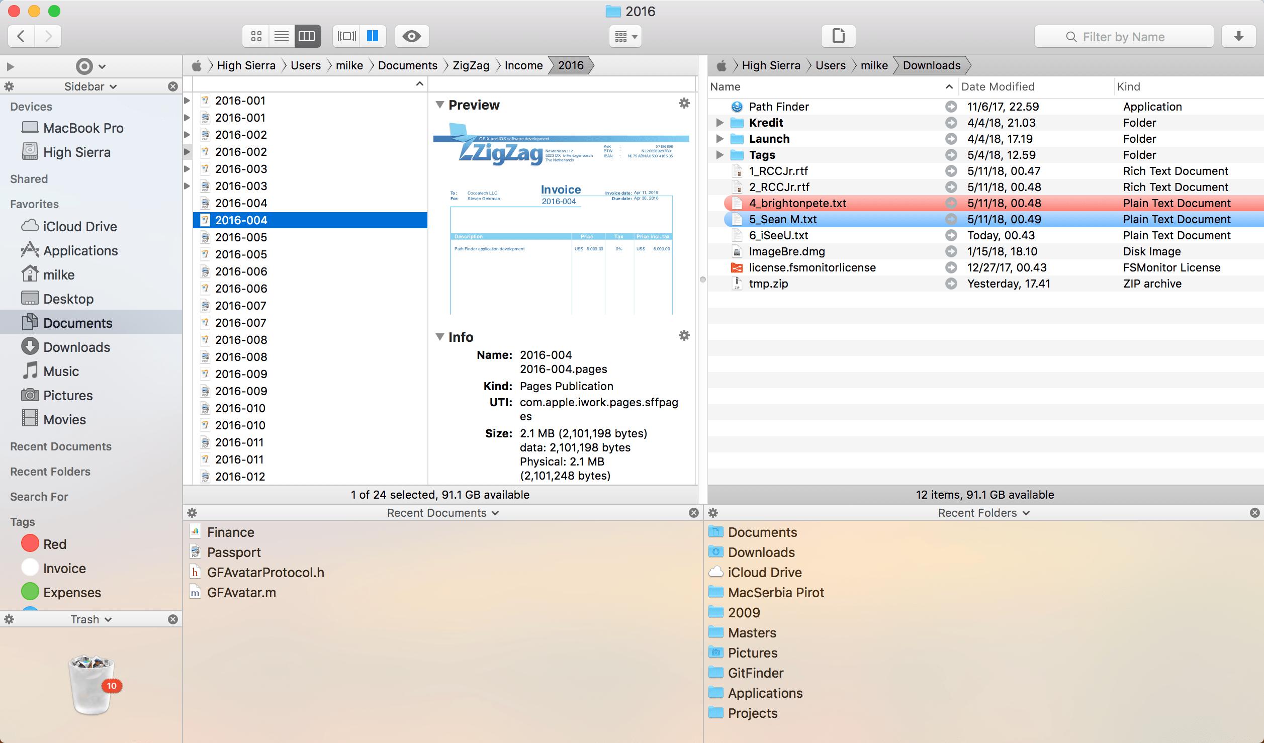Path Finder para macOS
